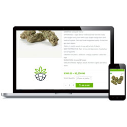 Place an order at Astra Weed